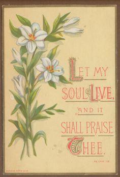 C6038 Bright Victorian Marcus Ward Religious Card Scripture | eBay