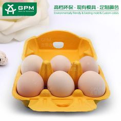 6 Hole Egg chicken eggs Packaging Box Custom Printed Paper Egg Cartons for sale