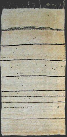Beni Ouarain Carpet Teppich Ca 1920 30 Moroccan Berber Rug Berber Vintage Moroccan