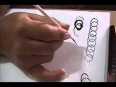 Seminario para pintar Ojos - Parte 3/16 - YouTube