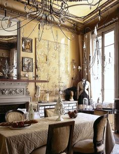 redbrickfarmhouse:  Behold the incredible world of Pascale Palun. (via Avignon Perfection | FleaingFrance Brocante Society)