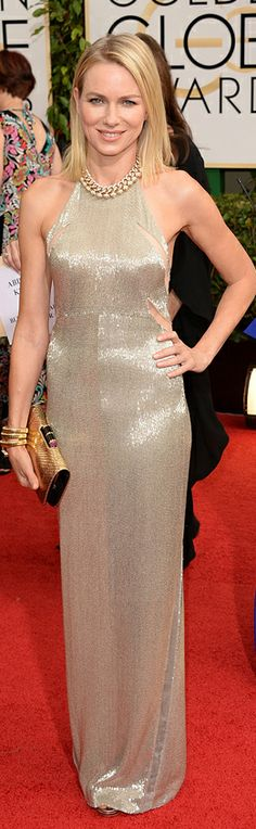 Naomi Watts in Tom Ford | Golden Globes