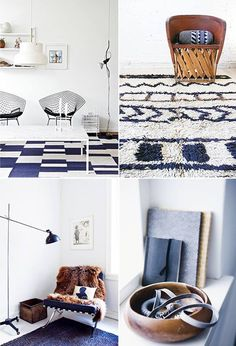 New Trend! Meditterean Blue and White