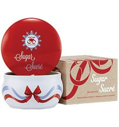 Sugar Signature Scent #Candle - Visions of sugarplums will dance as this sweet, vanilla glazed plum and pomegranate scent fills the room, sparking pure joy during the season. The soy-based candle with 100% cotton wick is designed for a longer-lasting burn. #holiday