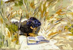 Women Reading in the Reeds, St Jacut-de-la-mer, 1909