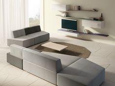 SLIDE Sofa by Lago design Daniele Lago