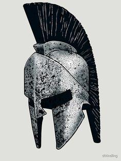 Soldier Helmet, Warrior Helmet, Spartan Warrior, Leo Tattoos, Sleeve Tattoos, Albanian Tattoo, Molon Labe Tattoo, Spartan Helmet Tattoo, Greek God Tattoo