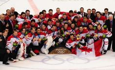 Team Canada wins at 2010 Olympic games :) And don't forget it! THIS IS WHERE HOCKEY BELONGS!