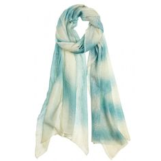 Enjoy an additional 60% off select sale styles this weekend ONLINE ONLY! Sky Writing Cashmere Scarf in Ocean Depths