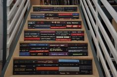 This book staircase. | 22 Things That Belong In Every Bookworm's Dream Home