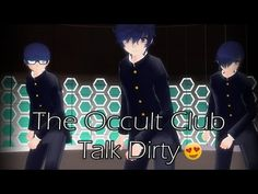 MMD Talk Dirty (DL) The Occult Club (Model DL)
