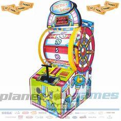 Energy Zone Wheel Of Fortune  redemption ticket verme odaklı bir  oyun makinesidir. Stoklarımızda aynı gün teslim, 2 yıl Planet teknik garantisi vardır.