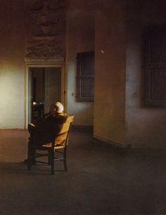 """David Douglas Duncan - Picasso at Vauvenargues (1962) """"It took me a lifetime.""""  ― Pablo Picasso"""
