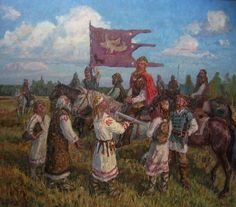 Древняя Русь в художественных образах