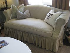 Custom Slipcovers by Shelley: My front room