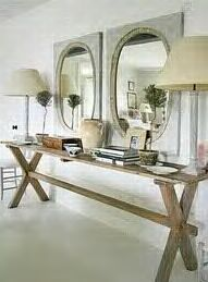 ideal buffet table for the patio