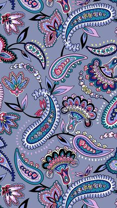 Mobile Wallpaper in Makani Paisley - Best of Wallpapers for Andriod and ios Bohemian Wallpaper, Paisley Wallpaper, Paisley Art, Iphone Background Wallpaper, Cellphone Wallpaper, Flower Wallpaper, Mobile Wallpaper, Cool Wallpaper, Pattern Wallpaper