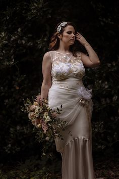 Willow Claire Pettibone Dress Gown Bride Bridal Luxe Gold Blush Romantic Wedding http://toastofleeds.co.uk/