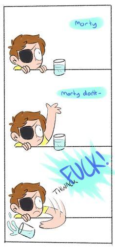 Evil!Morty