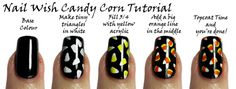 Nail Wish: Candy Corn Tutorial