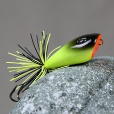 New Handmade Fishing lures 5.5cm 15g Jump Frog Lure Top Water ...