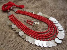 Largest online marketplace for unique Indian products with more than jewellery, sarees, salwar suits and handmade and natural products. It is ETSY of India. Silver Jewellery Indian, Tribal Jewelry, Metal Jewelry, Beaded Jewelry, Thread Jewellery, Fabric Jewelry, Jewellery Sale, Fancy Jewellery, Jewelry Stores