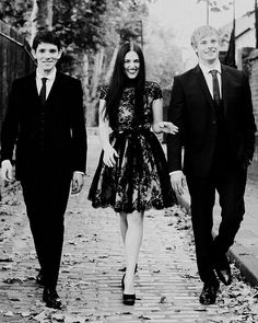 Colin, Katie, Bradley / Merlin