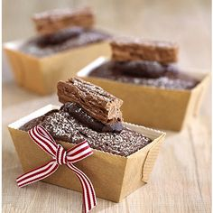 chocolate yule logs