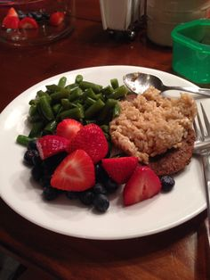 """21 day fix meal. Followed by cardio fix. Doesn't seem like """"dieting"""" at all"""