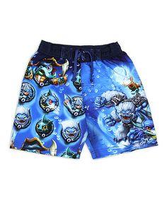 Loving this Blue Skylanders Swim Trunks - Boys on #zulily! #zulilyfinds