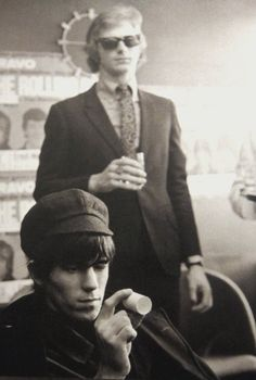 Keith Richards and Andrew Loog Oldham, Hamburg (October 13, 1965)