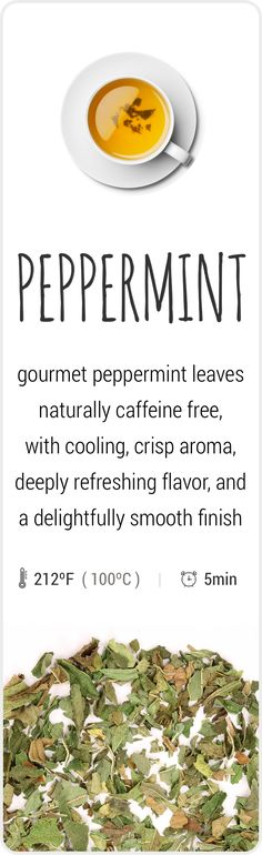 Farm-fresh herbal Peppermint tea from Oregon, USA. Peppermint Tea, Mint Plant Care, Best Tea Brands, Fresh Mint Tea, Lavender Tea, Fruit Tea, Brewing Tea, Natural Healing