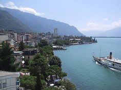 Montreux is a municipality in the district of Riviera-Pays-d'Enhaut in the canton of Vaud in Switzerland. Description from pinterest.com. I searched for this on bing.com/images