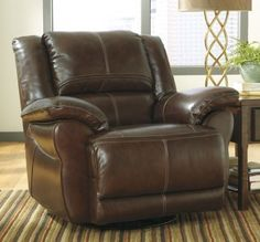 Ashley Furniture Lenoris Swivel Power Rocker Recliner U9890132
