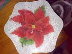 Flor craquelada