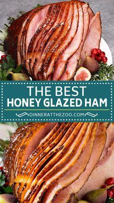Pork Recipes, Cooking Recipes, Baked Ham Recipes, Ham Cooking Time, Cooking Spiral Ham, Drink Recipes, Cooking Tips, Baked Spiral Ham, Kitchen