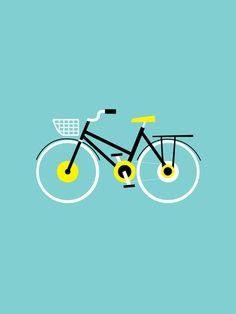 """Cruiser Bike"" by Max Kaplun on Society6.com"