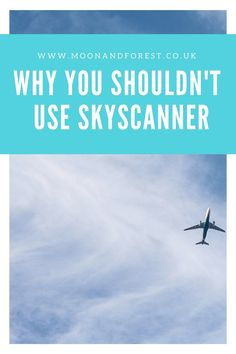 To book cheap flights Skyscanner is most people's first port of call. I use it all the time for planning my travel, however price comparison sites aren't always what they seem. Here's why you shouldn't be using Skyscanner to book your flights. Read on for more info!