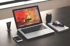 #apple #desk #desktop #digital #iphone #laptop #macbook pro #mockup #notebook #organize #organized #screen #technology #workspace