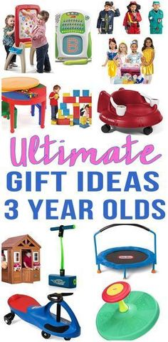 BEST Gifts For 3 Year Olds! Top gift ideas that boys and girls will love! Find presents that kids want - from educational toys to award winning toys and more! Find age appropriate toys for three year old children. Great ideas for birthday gifts and Christmas gifts. Get children the toy of the year to celebrate their 3rd birthday. Shop the best toys for 3 year olds now - great for daughters, sons, grandkids, niece, nephew and more!