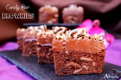 ALIMENTA: CANDY BAR BROWNIES