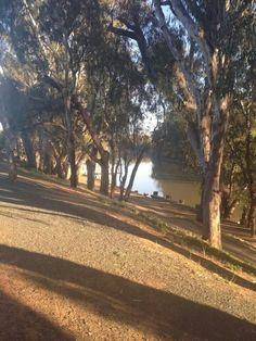 Murray river, Echuca, vic, Australia