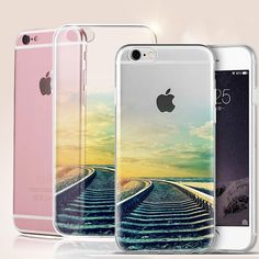 Mobile Phone Cases Beatiful Landscape Phone Covers for iPhone 7 7 Plus 6 6s Plus 5 5s SE High Quality Soft Slim Back capa shell