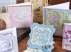 All Tattered Lace die designs are available exclusively through hobbycraft.