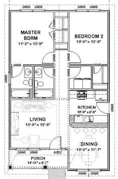 2 bed room home strategies