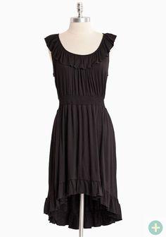 Island Getaway Curvy Plus Dress In Black | Modern Vintage Curvy Plus