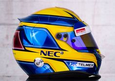 2013 F1 driver helmets in pictures - F1 Fanatic