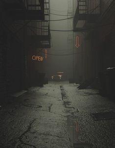Night Aesthetic, City Aesthetic, Aesthetic Dark, Dark Photography, Street Photography, Night Photography, Aesthetic Backgrounds, Aesthetic Wallpapers, Witcher Wallpaper