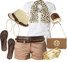 Khaki casual Outfit
