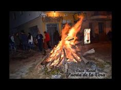 #Luminarias2013 : El rito del Fuego en Madrigal de la Vera, Caceres, Extremadura.